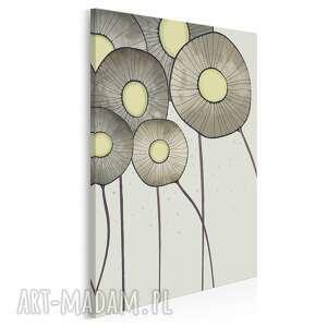 obraz na płótnie - kwiaty bukiet w pionie 50x70 cm 69403, kwiat