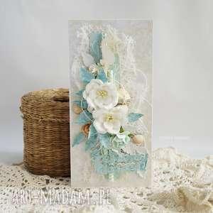kartka urodzinowa - z morskim akcentem - kartka, kartka-urodzinowa, morska, marynistyczna