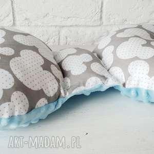 handmade pokoik dziecka poduszka antywstrząsowa; motylek; minky
