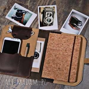 hand-made notesy notatnik, organizer, skórzany notes, kalendarz, prezent na każdą okazję, etui na tablet