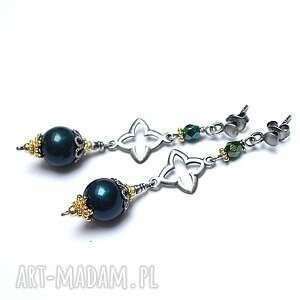 marrakesh - pearl vol 3 /petrol/, srebro, srebro pozłacane, orientalne, długie