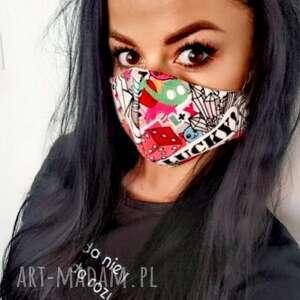 feltrisimi maska,maseczka streetnewstyle z filtrem, komiksy, maska, ochronna