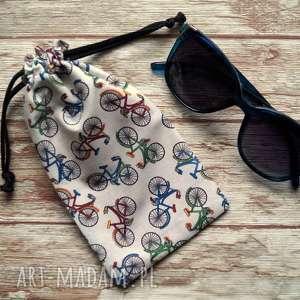 Etui bawełniany woreczek na okulary happyart okulary, słoneczne