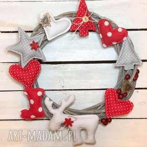 święta upominki Wieniec świąteczny Boże Narodzenie, wieniec, wianek, ozdoba, drzwi