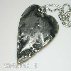 serce z mosiądzu, serce, serce-mosiądz, unikatowa-biżuteria, unikatowe-serce