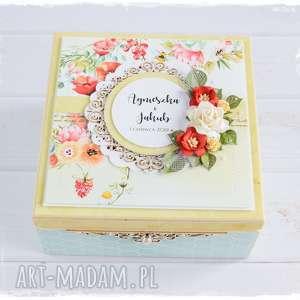ręcznie wykonane scrapbooking kartki niezbędnik małżeński pamiątka