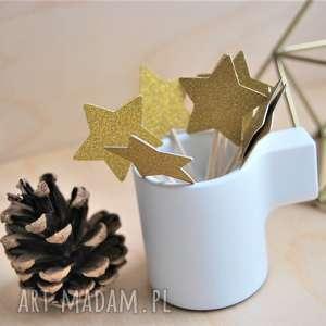 dekoracje pikery złote gwiazdeczki, pikery, święta, boże, gwiazeczki, narodzenie
