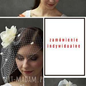 hand-made ozdoby do włosów zamówienie indywidualne