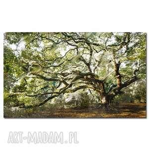 obraz drzewo 35 - 120x70cm na płótnie do salonu, obraz
