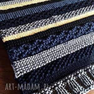 zmiksowany dywan, sznurek bawełniany, ręczna robota, rękodzieło