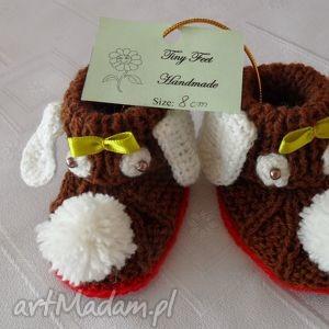 Buciki niemowlęce - Pieski, buciki, kapciuszki, dziecięce