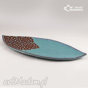 hand made ceramika paterka ambra
