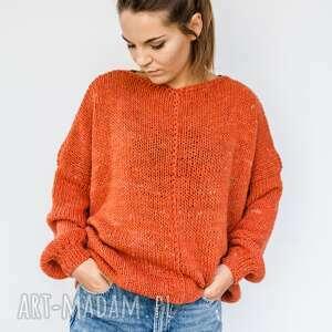 Hand made wełniany sweter swetry hermina sweter, na zimę