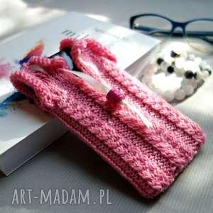 handmade etui sweterek na smartfona