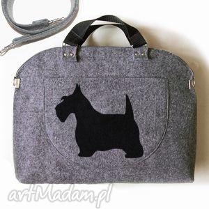 ruben art torebka filcowa kuferek dog, filc, torebka, rubenart, buraczekdesign