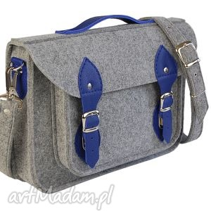 15 inch laptop macbook pro, pro retina - torba, filc, skóra, leather, felt, handmade