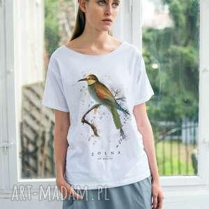 żołna t-shirt oversize