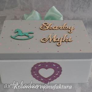 Prezent Pudełko na skarby dziecka - 02, pudełko, skarby, dziecko, urodziny, prezent