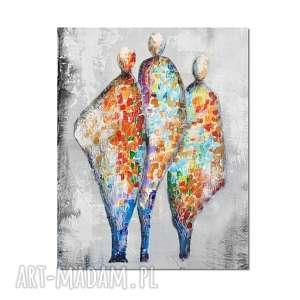 In good company 2, nowoczesny obraz ręcznie malowany, obraz, nowoczesny,