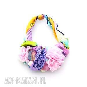 pastelove naszyjnik handmade, naszyjnik, kolia, kolorowy, pastele, pastelowy