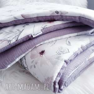 pościel do łóżeczka z pięknym wzorem i muślinem, pościel, dla dzieci