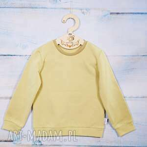 bluza dziecięca piasek, bez kaptura, rozmiar 98, dla chłopca