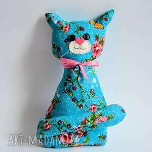 Motylarnia - kotek torebkowy - różyczka - kot zabawka dziewczynka, urodziny, maskotka