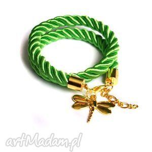 bransoletki wiosenna bransoletka złota ważka, wiosna, wiosenna, trendy, modna