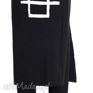 Spódnco-spodnie, spodnie, spodnica, wygodny, wyszczuplajacy, efektowny, maxi