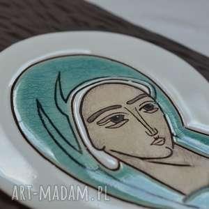 ślub ikona ceramiczna z wizerunkiem maryi - pneumatofora