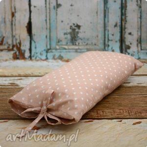 ręczne wykonanie pokoik dziecka poszewka poduszka - pudrowy róż