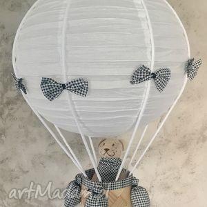 Oryginalna Lampa LaMaDo Latający Miś , sufitowa, lampa, wisząca, balon, miś