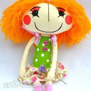 anolinka - ręcznie wykonana lalka z duszą - miękka, prezent