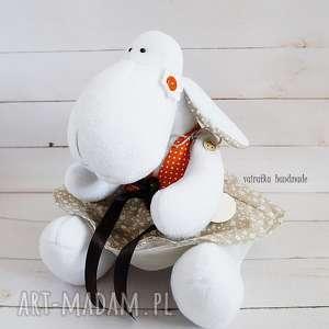 Owieczka (107) - ,zabawka,maskotka,owieczka,
