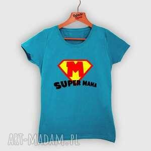 koszulka z nadrukiem dla mamy, prezent na dzień matki, super mama