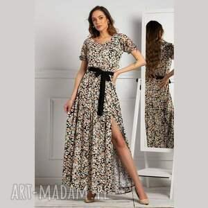 pod choinkę prezent, sukienka leah maxi bakalia, maxi