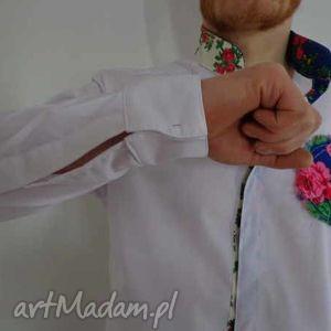 koszula męską folk design , ubrania
