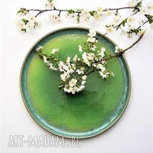 ceramika talerz - tafla jeziora, talerz, ceramika, plate, kuchnia