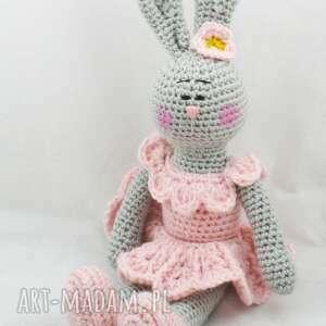 Króliczka lenka maskotki drobiazg króliczka, zabawka, maskotka