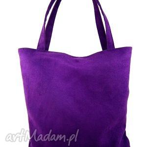 handmade na ramię usual violet
