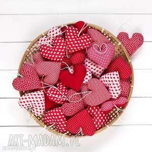 serca mix 50 szt ślub, podziękowania dla gości, serce, zawieszka, prezent