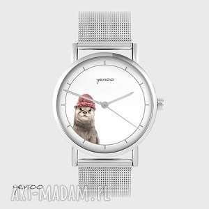 zegarki zegarek, bransoletka - wydra metalowy, bransoleta, metalowa