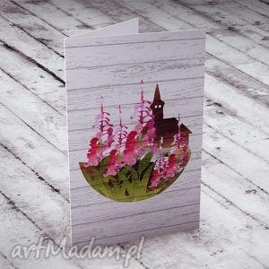 karteczka na życzenia, kartka, kwiaty, ślub, urodziny, imieniny
