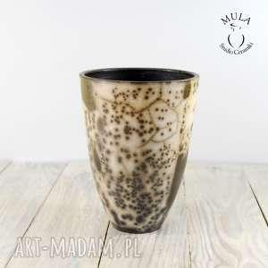 ręczne wykonanie ceramika wazon osłonka na storczyk raku