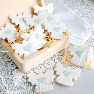 handmade dla dziecka aniołki w podziękowaniu