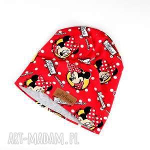 Czapka beanie myszka minnie ciepła prezent, czapka, minnie, myszka, disney,