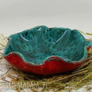 miska ceramiczna ręcznie robiona wspaniałe kolory, miska, patera, ceramiki