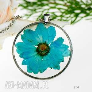 Prezent Naszyjnik z prawdziwym kwiatem z14, naszyjnik-z-kwiatów, herbarium-jewelry