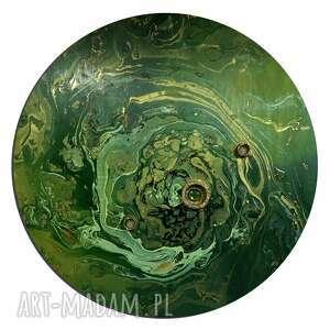 krajobraz księżycowy 40, planeta, księżyc, kosmos, alexandra13art, semeniuk