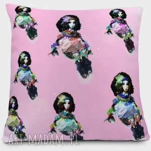 Laleczki - poduszka, kolorowo, dekoracja, dom, dziecko, ważki